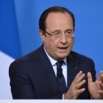 Hollande occupe le terrain (Photo AFP)