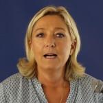 Marine Le Pen sûre de son fait (Photo AFP)