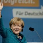Merkel en difficulté (Photo AFP)