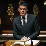 Valls  dans l'hémicycle (Photo AFP)