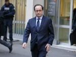 Hollande à l'ambassade du Danemark à Paris (pHOTO AFP)