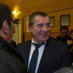 Barbier gagne avec 800 voix (Photo AFP)