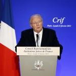 Roger Cukierman, hier soir (Photo AFP)