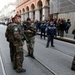 Militaires à Nice (Photo AFP)