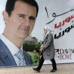 Bachar est toujours là (Photo AFP)