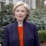 Mme Clinton sur une vidéo d'aujourd'hui (Photo AFP)
