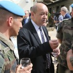 Le Drian : de la cavalerie (Photo AFP)