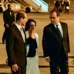L'arrivée à La Havane (Photo AFP)