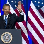 Obama, après un discours sur le NSA (Photo AFP)