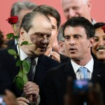 """Camba"" et Valls (Photo AFP)"
