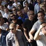 Chauffeurs en colère aujourd'hui (Photo AFP)
