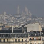 Le Sacré-Coeur à Paris en février dernier (Photo AFP)