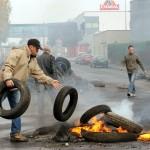 Éleveurs en colère à Cholet (Photo AFP)