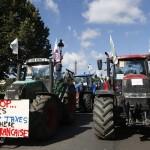 Tracteurs à Paris (Photo AFP)