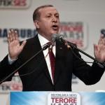 Erdogan le 4 octobre à Strasbourg (Photo AFP)
