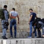 Fouille à Jérusalem (Photo AFP)