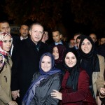 Erdogan hier parmi les siens (Photo AFP)