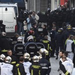 Police et Samu à Saint-Denis (Photo AFP)