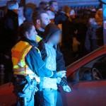 Une arrestation le 1er janvier à Cologne (Photo AFP)
