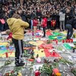 Moment de recueillement à Bruxelles (Photo AFP)
