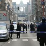 La station de Maalbeek fermée (Photo AFP)