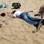 Mort sur la plage (PHOTO AFP)