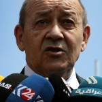Le Drian superstar (Photo AFP)