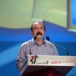 Martinez au congrès de la CGT (Photo AFP)
