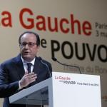 Hollande ce matin (Photo AFP)