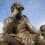 Une statue de Hamlet (Photo AFP)