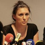 Sandra Bertin : sûre d'elle (Photo AFP)
