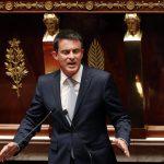Valls s'est emporté contre Wauquiez (Photo Afp)