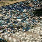 """La """"jungle"""" vue du ciel (Photo AFP)"""