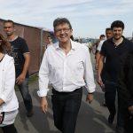 Mélenchon samedi à la fête de l'Huma (Photo AFP)