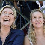Marine  et Marion détestent Hillary (Photo AFP)