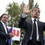 Sarkozy à la Baule avec Luc Chatel (Photo AFP)