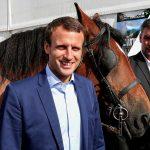 Macron à Chalons le Ier septembre (Photo AFP)