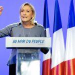 Marine Le Pen à Fréjus (Photo AFP)