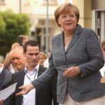 Mme Merkel le 3 septembre (Photo AFP)