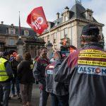 Manif' le 4 octobre à Belfort (Photo AFP)