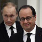 Poutine et Hollande en 2015 (Photo AFP)