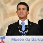 Valls hier à Tunis (Photo AFP)