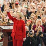 Hillary  en action (Photo AFP)