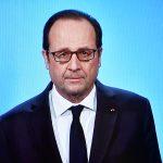 Hollande hier à la télé (Photo AFP)