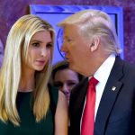 Trump hier avec sa fille Ivanka (Photo AFP°