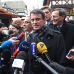 Valls en campagne (Photo AFP)